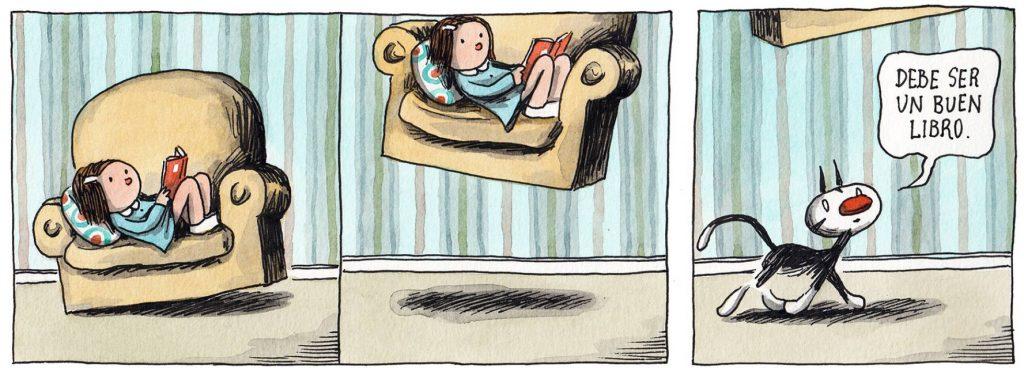Un buen libro te hace volar