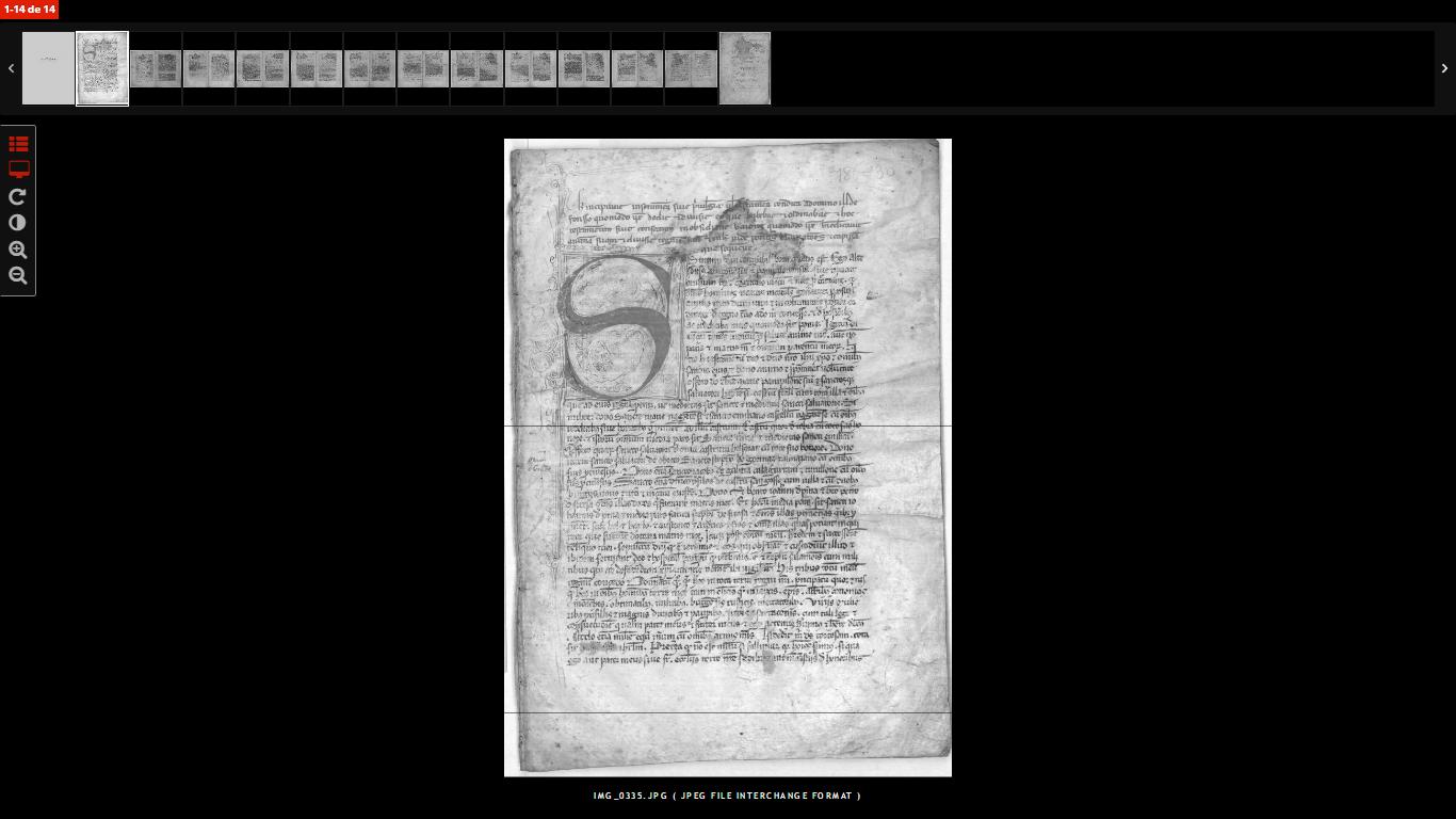 Vista en pantalla completa de documentos - MediaSearch - Diputación de Zaragoza