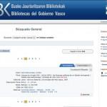 La fusión del sistema bibliotecario de las bibliotecas departamentales del Gobierno Vasco