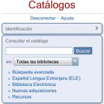 La Red de Bibliotecas del Instituto Cervantes implanta un OPAC adaptado para dispositivos móviles (MOPAC)